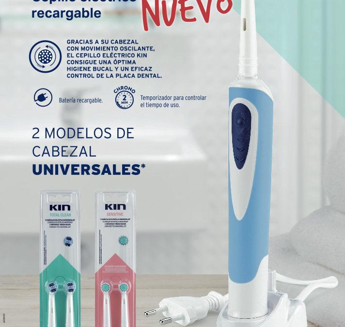 Nuevo cepillo eléctrico KIN