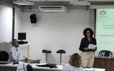 Presentación de KIN Exogel en Brasil