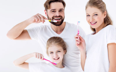 Good oral hygiene starts with proper toothbrushing