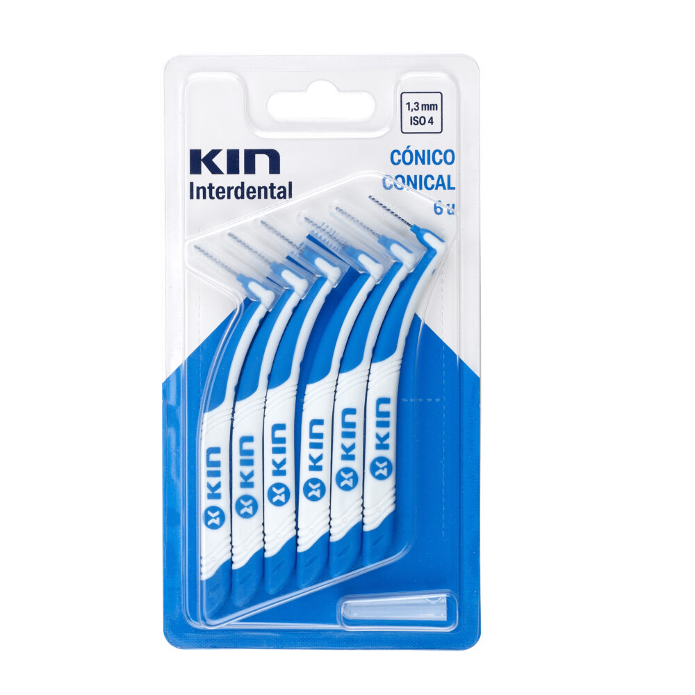 CEPILLO KIN INTERDENTAL CÓNICO (1,3 MM – ISO 4)