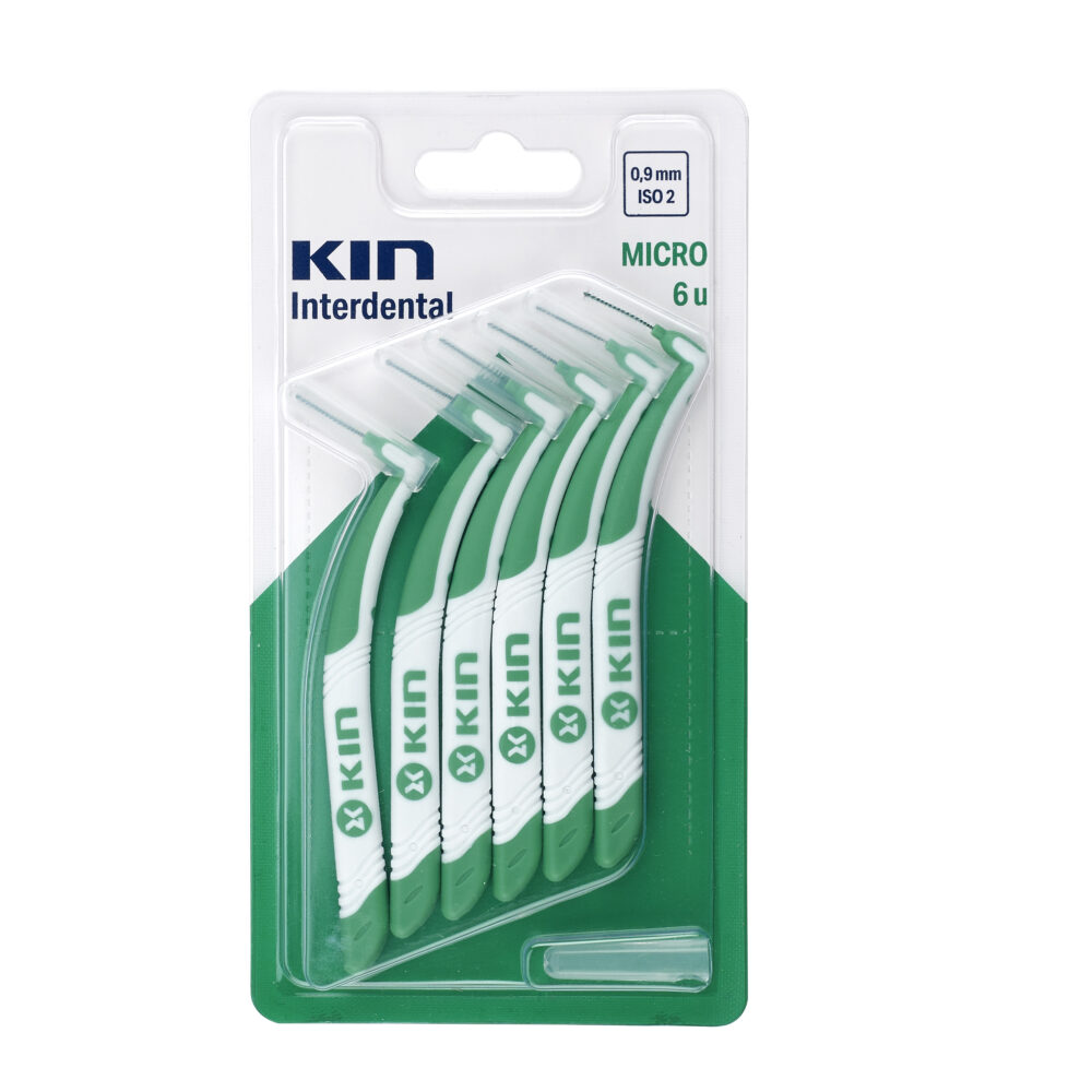 CEPILLO KIN INTERDENTAL MICRO (0,9 MM – ISO 2)