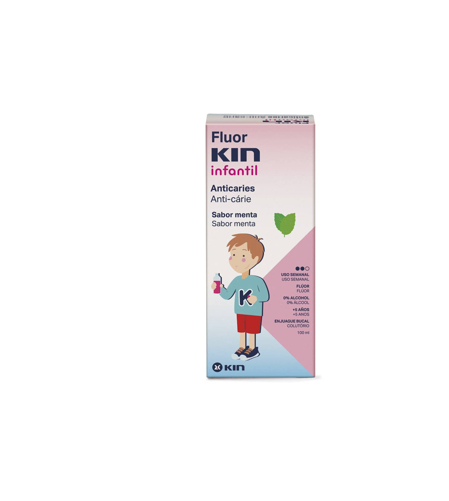 Fluor KIN Infantil Anticaries
