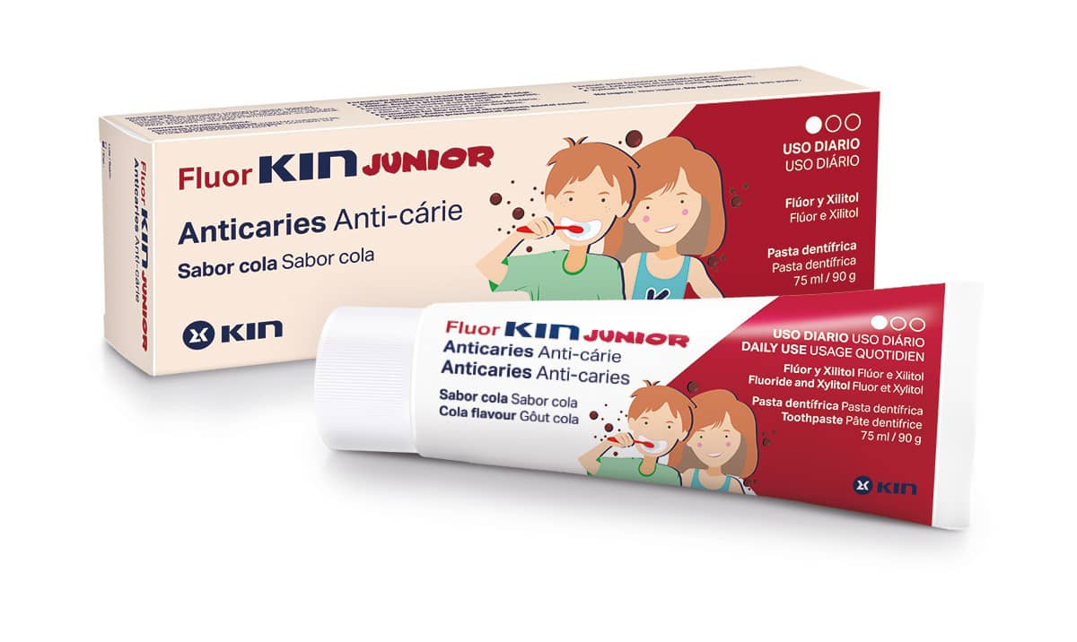 Fluor KIN Junior Anticaries 75ml