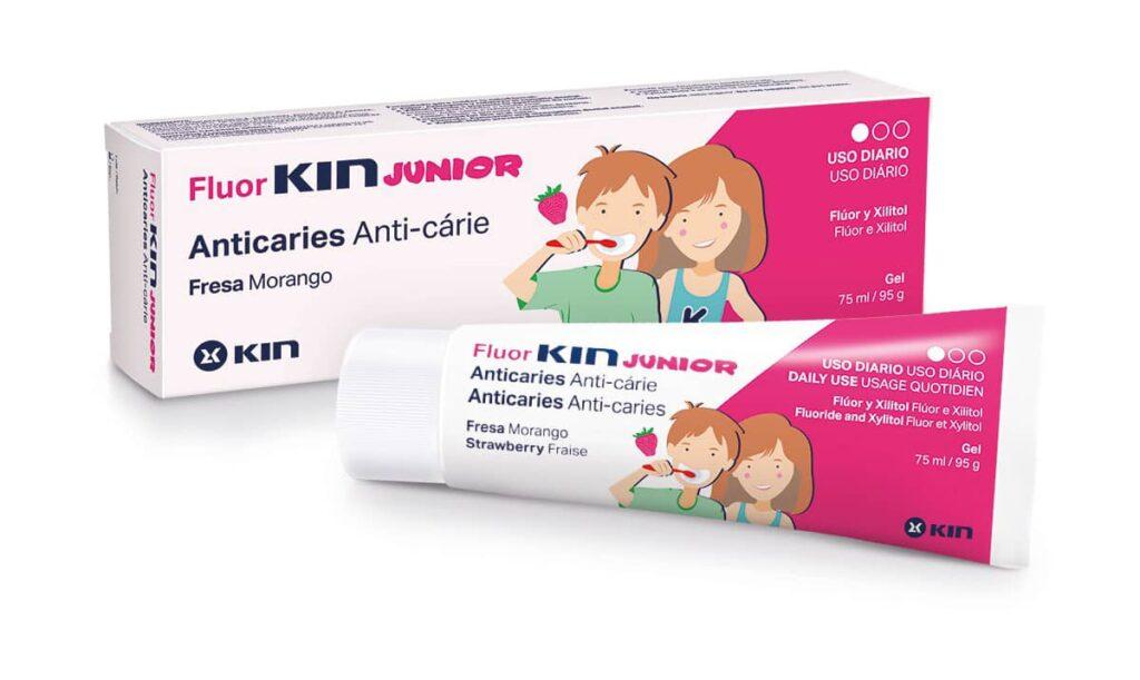 Fluor KIN Junior Fresa 75ml