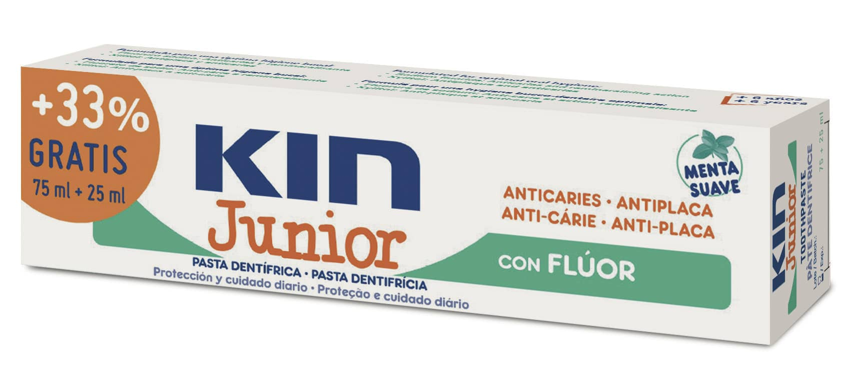 KIN Junior Pasta Dentífrica