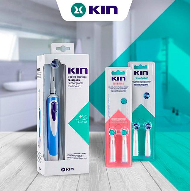 cepillo de dientes electrico kin