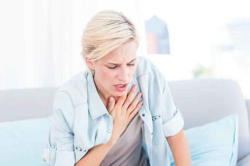 asthma flare-up