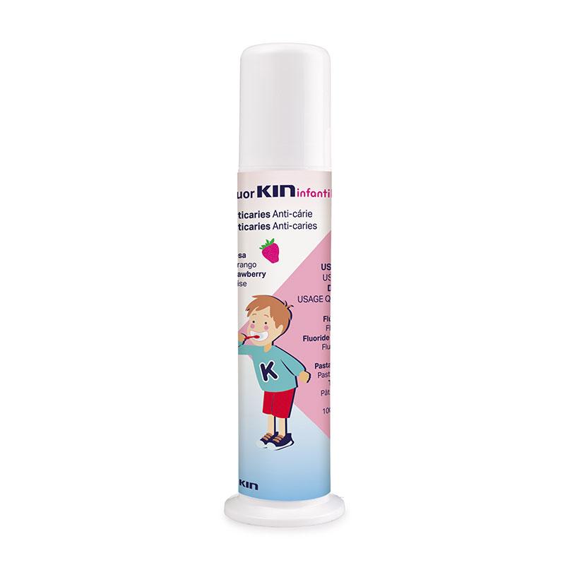 fluorkin infantil pasta dosificador