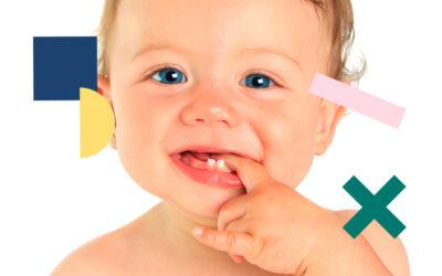 limpieza dientes bebe